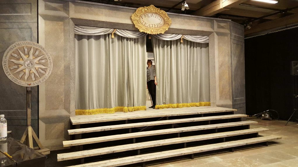 Scenen i Kronhusteatern